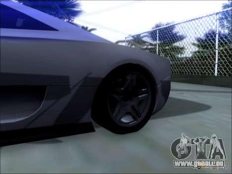 Scalfati GT (Watch Dogs) pour GTA San Andreas sur la vue arrière gauche