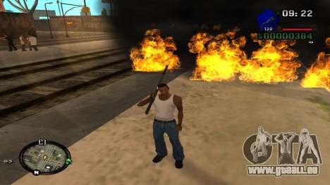 C-HUD by Kidd pour GTA San Andreas cinquième écran
