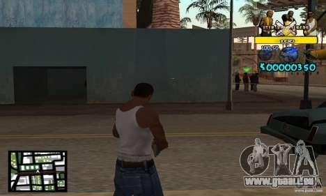 Tawer Getto HUD für GTA San Andreas