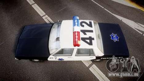 Chevrolet Impala 1985 LCPD [ELS] pour GTA 4 est un droit