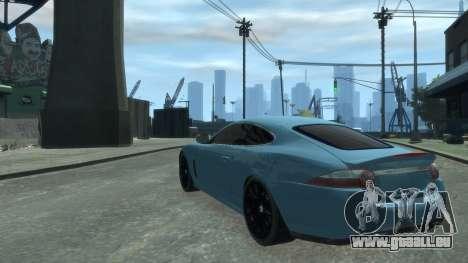 Jaguar XK v.2.0 pour GTA 4 est un droit