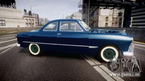 Ford Custom Club 1949 für GTA 4 linke Ansicht