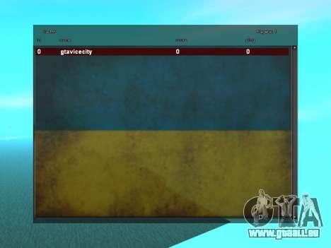 SampGUI Flagge Der Ukraine für GTA San Andreas