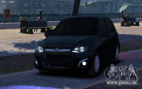 Lada Kalina 2 pour GTA 4 est une gauche