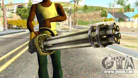 Minigun from Redneck Kentucky für GTA San Andreas dritten Screenshot