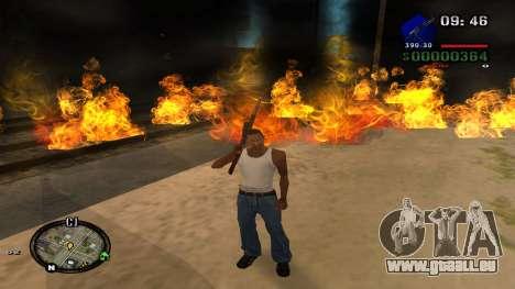 C-HUD by Kidd pour GTA San Andreas sixième écran