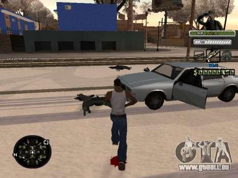 C-HUD Army für GTA San Andreas dritten Screenshot