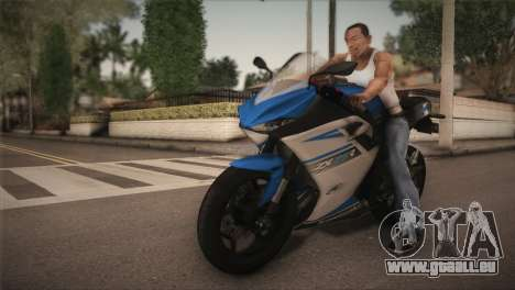 Kawasaki Ninja ZX25R pour GTA San Andreas