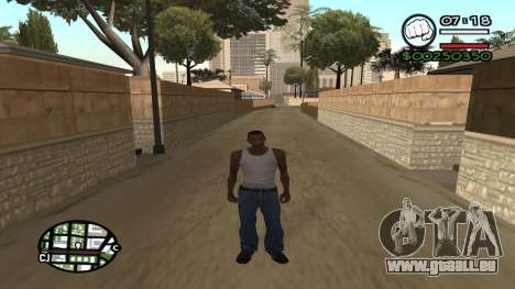 C HUD King Ghetto Life für GTA San Andreas