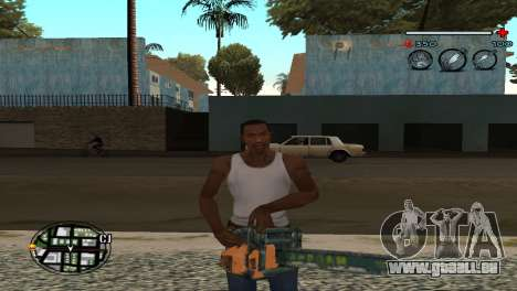 C-HUD Gray für GTA San Andreas dritten Screenshot