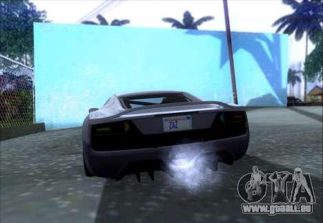 Scalfati GT (Watch Dogs) pour GTA San Andreas vue de côté