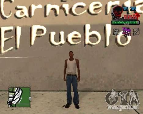 C-HUD Tawer Ghetto für GTA San Andreas zweiten Screenshot