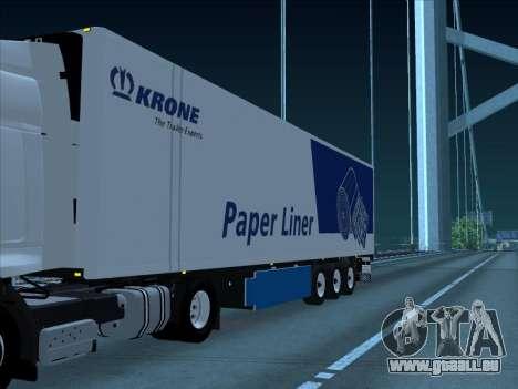 Krone pour GTA San Andreas laissé vue
