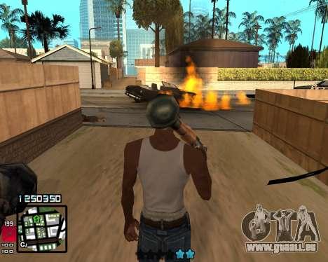 C-HUD Compact pour GTA San Andreas deuxième écran