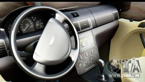 Ford Transit Tourneo Connect Camli Van für GTA San Andreas zurück linke Ansicht