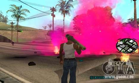 New Pink Effects pour GTA San Andreas deuxième écran