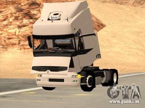 Renault Premium für GTA San Andreas Unteransicht