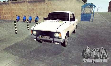 Moskvitch 412 Blanc Hirondelle pour GTA San Andreas