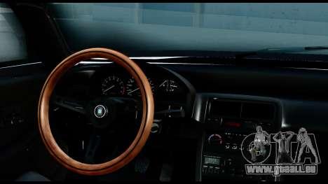 Honda Civic 4gen JDM pour GTA San Andreas vue arrière