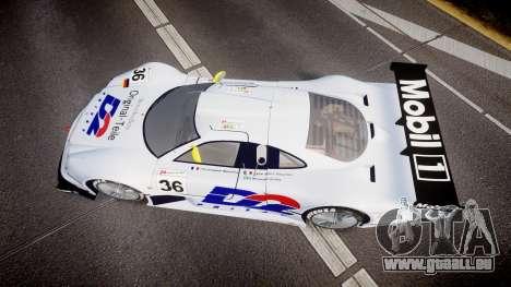 Mercedes-Benz CLK LM 1998 PJ36 pour GTA 4 est un droit