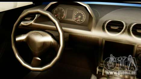 GTA 5 Obey 9F Cabrio pour GTA San Andreas sur la vue arrière gauche