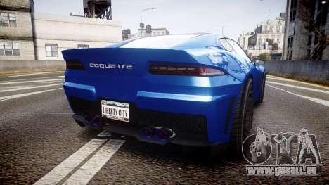 GTA V Invetero Coquette für GTA 4 hinten links Ansicht