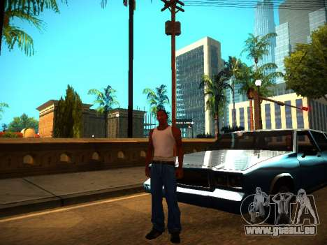 ENB v1.3 pour les faibles PC pour GTA San Andreas troisième écran