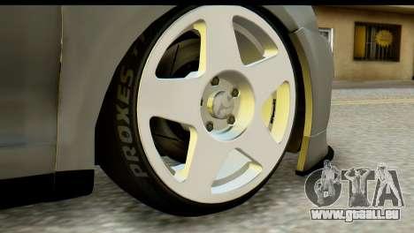Volkswagen Bora GLI 2010 Tuned pour GTA San Andreas sur la vue arrière gauche