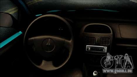 Renault Clio Beta v1 für GTA San Andreas rechten Ansicht