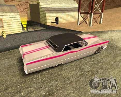 Cadillac DeVille Lowrider 1967 für GTA San Andreas rechten Ansicht