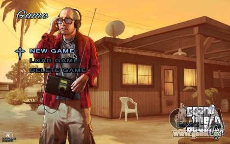 GTA 5 Menu pour GTA San Andreas troisième écran