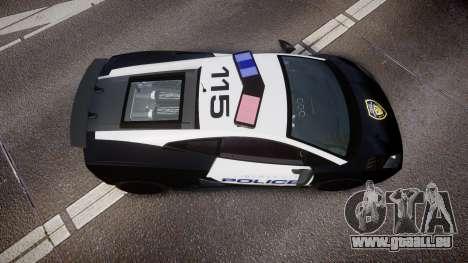 Lamborghini Gallardo LP570-4 LCPD [ELS] für GTA 4 rechte Ansicht