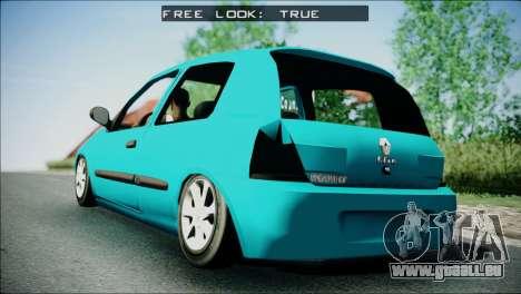 Renault Clio Beta v1 für GTA San Andreas linke Ansicht