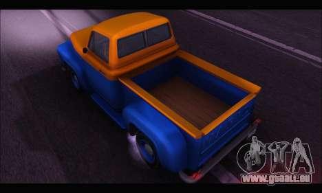 Vapid Slamvan (GTA V) für GTA San Andreas zurück linke Ansicht
