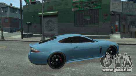 Jaguar XK v.2.0 pour GTA 4 est une gauche