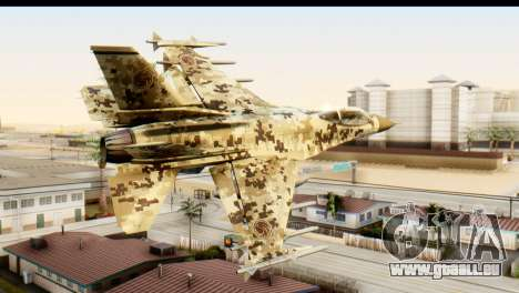 P-996 Lazer v3 pour GTA San Andreas laissé vue