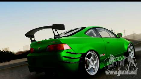Honda Integra Type R Time Attack IVF pour GTA San Andreas laissé vue