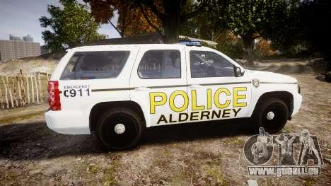 Chevrolet Tahoe 2010 Police Alderney [ELS] für GTA 4 linke Ansicht