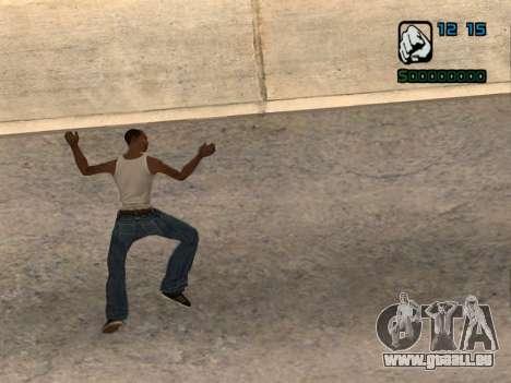 Indicateur numérique HP pour GTA San Andreas deuxième écran