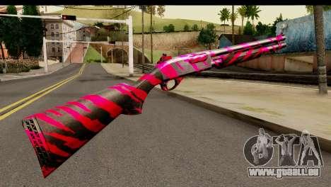 Red Tiger Shotgun für GTA San Andreas zweiten Screenshot