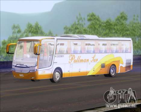 Busscar Vissta Buss LO Pullman Sur für GTA San Andreas zurück linke Ansicht