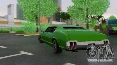 Sabre Limousine für GTA San Andreas rechten Ansicht