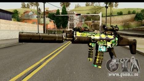 Grafiti M4 pour GTA San Andreas