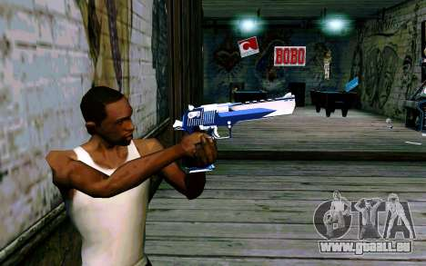 Blue Dragon Deagle für GTA San Andreas