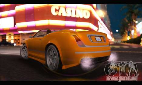 Enus Cognoscenti Cabrio (GTA V) (IVF) für GTA San Andreas linke Ansicht