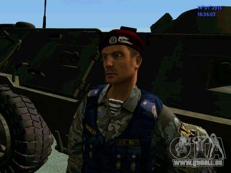 Le Contremaître De L'Aigle pour GTA San Andreas cinquième écran
