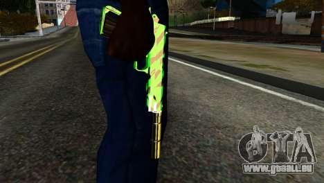 New Silenced Pistol pour GTA San Andreas troisième écran