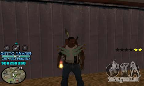 C-HUD Ghetto by Inovator für GTA San Andreas zweiten Screenshot