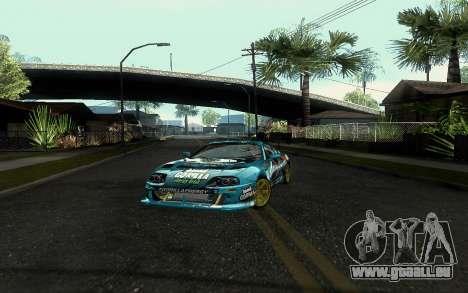 Toyota Supra Gorilla Energy GT-Shop für GTA San Andreas