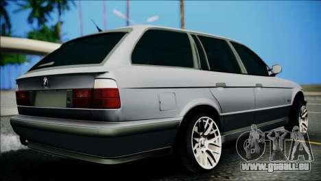 BMW M5 E34 Wagon pour GTA San Andreas laissé vue